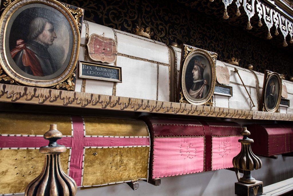 Arche Aragonesi - Re Alfonso - San Domenico Maggiore Napoli