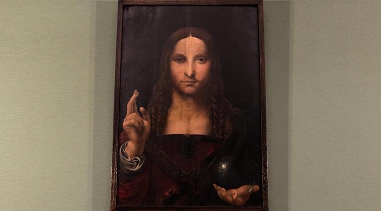 Il Salvator Mundi di scuola leonardesca esposto al Museo San Domenico Maggiore di Napoli