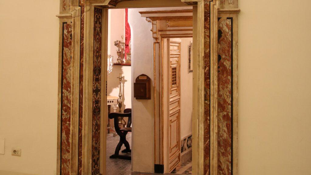 Cella San Tommaso d'Aquino_ingresso_San Domenico Maggiore Napoli