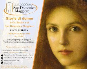 la locandina della visita guidata a tema al Museo San Domenico Maggiore